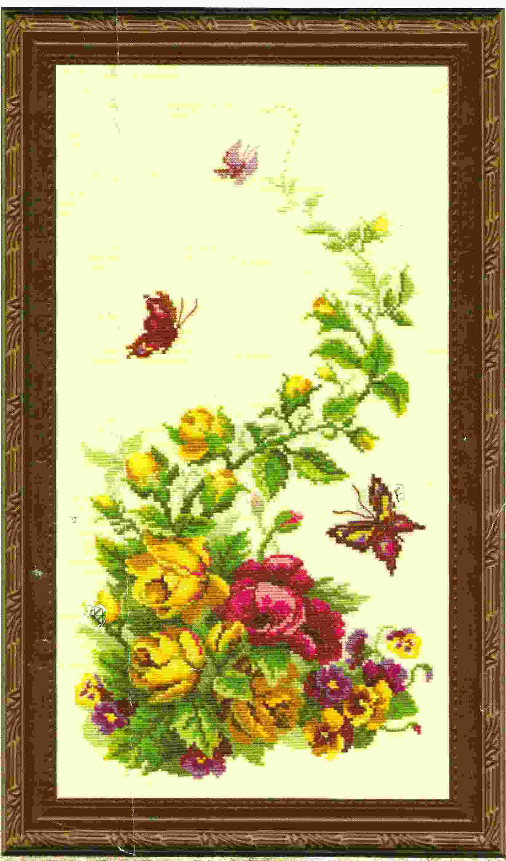 Цветы чарівна мить 09 18 полевые цветы